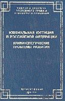 Ювенальная юстиция в Российской Федерации:  криминологические проблемы развития