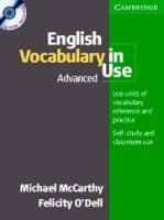 English Vocabulary in Use:  Advanced  (Edition with answers)  + CD