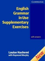 English Grammar in Use:  Supplementary Exercises  (Second edition Edition with answers)