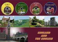 England and the English / Англия и англичане  (англ. яз. ) .  Комплект:  книга+4 DVD